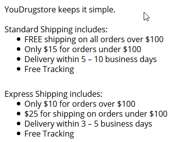 You Drugstore Free Shipping