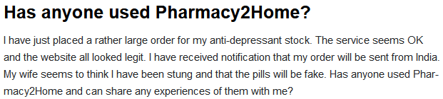 Pharmacy 2 Home Review