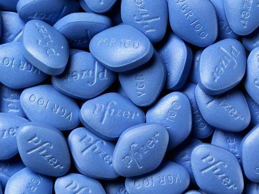 Branded Viagra produced by Pfizer