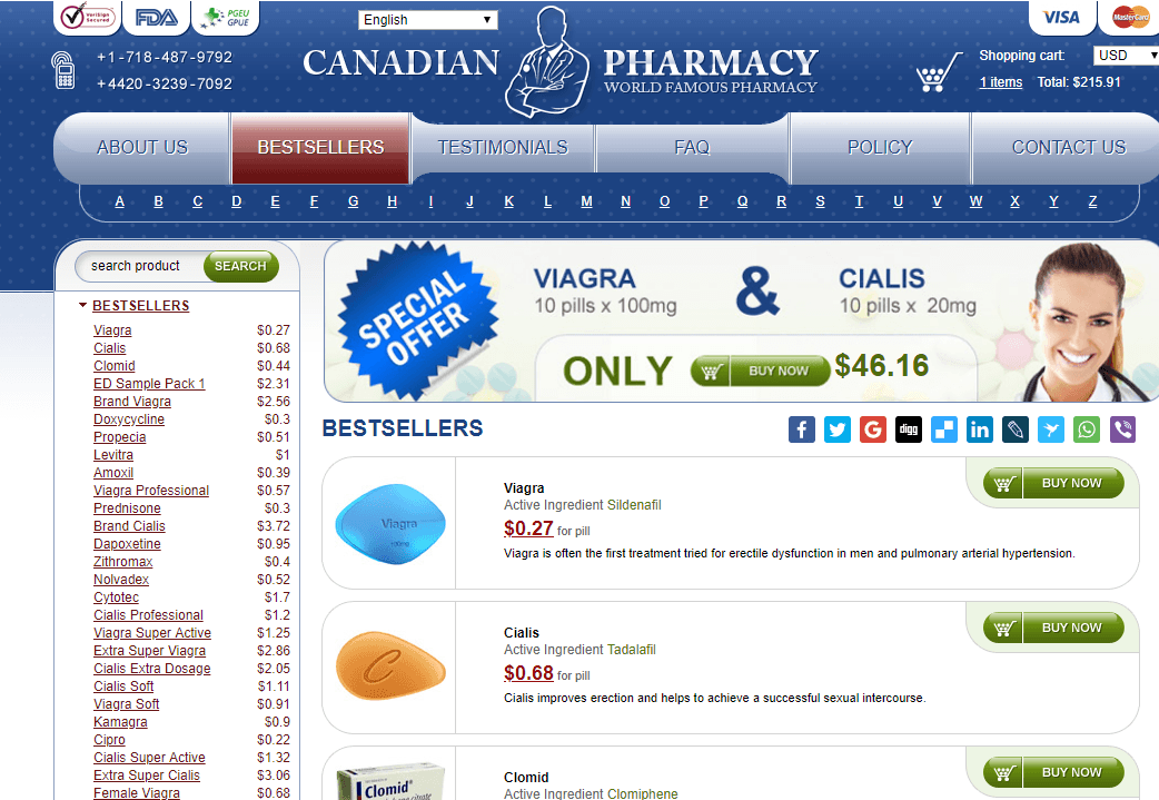 Online Pills, a Legit Canadian Pharmacy